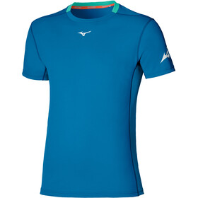 Mizuno Alpha Sun Protect Tee Men, mykonos blue